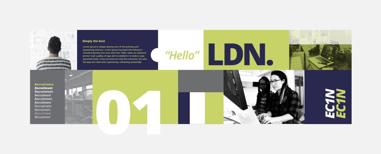 Boyce Recruitment Branding | John Shannon | Graphic Designer | Brighton