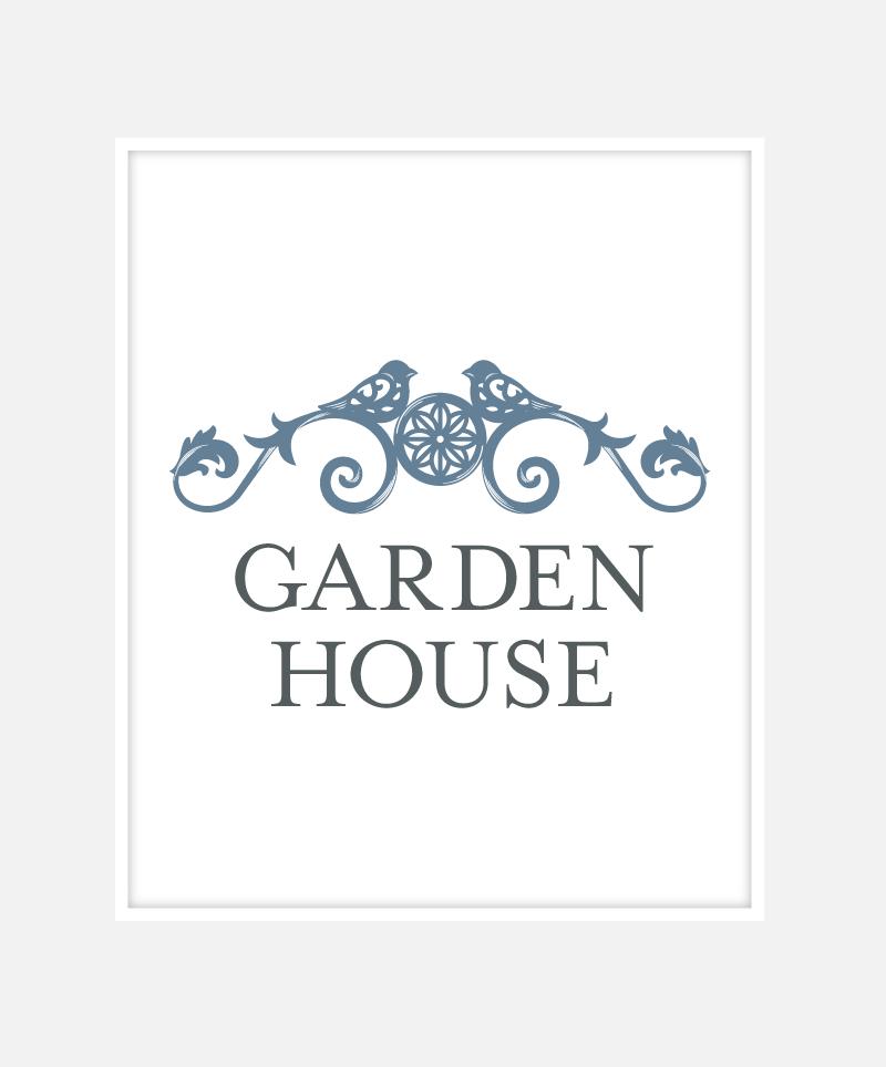 Garden House Branding | John Shannon | Graphic Designer | Brighton