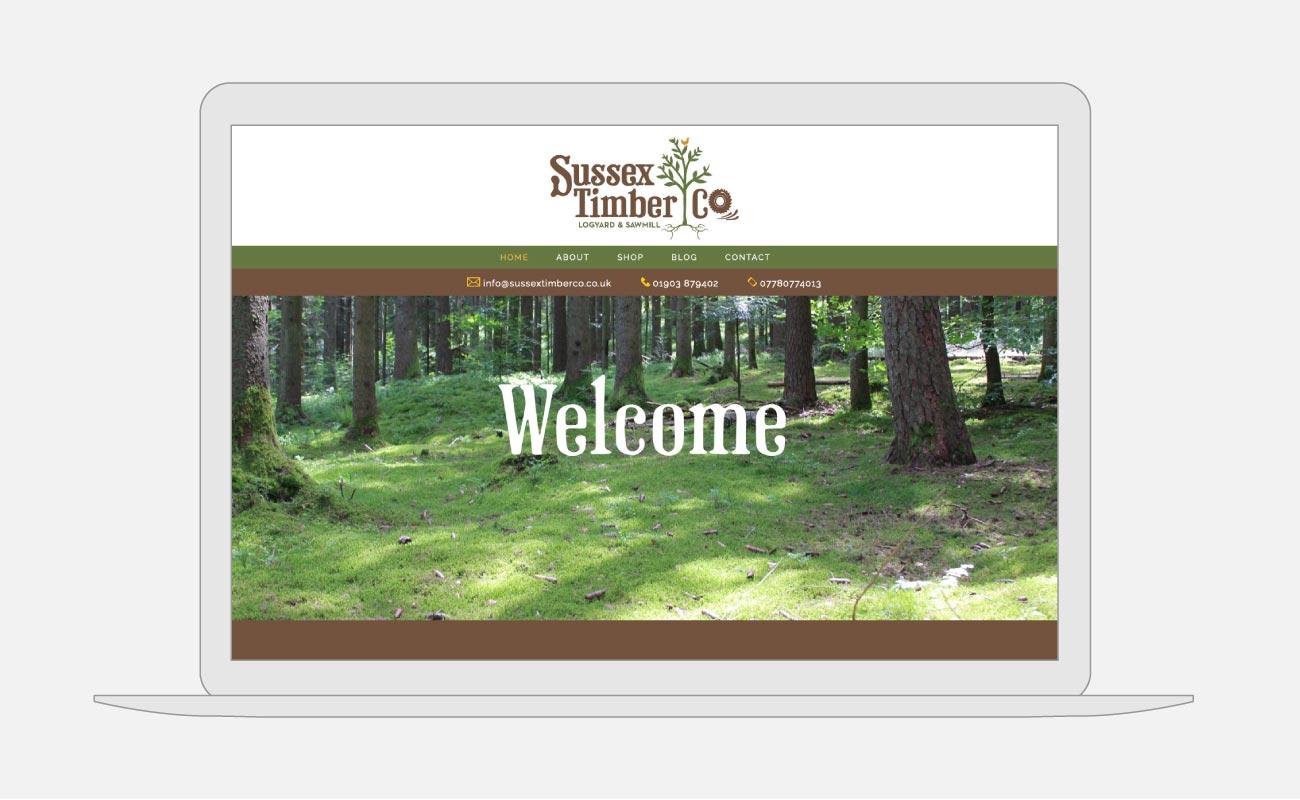 Sussex Timber Co Website Design   John Shannon   Web Designer   Brighton