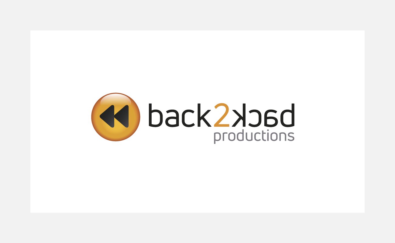 back2back TV Logo Identity Design   John Shannon   Graphic Designer   Brighton