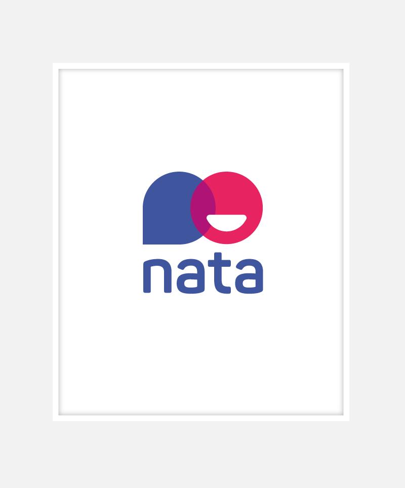 Nata Resourcing Logo Identity Design | John Shannon | Graphic Designer | Brighton