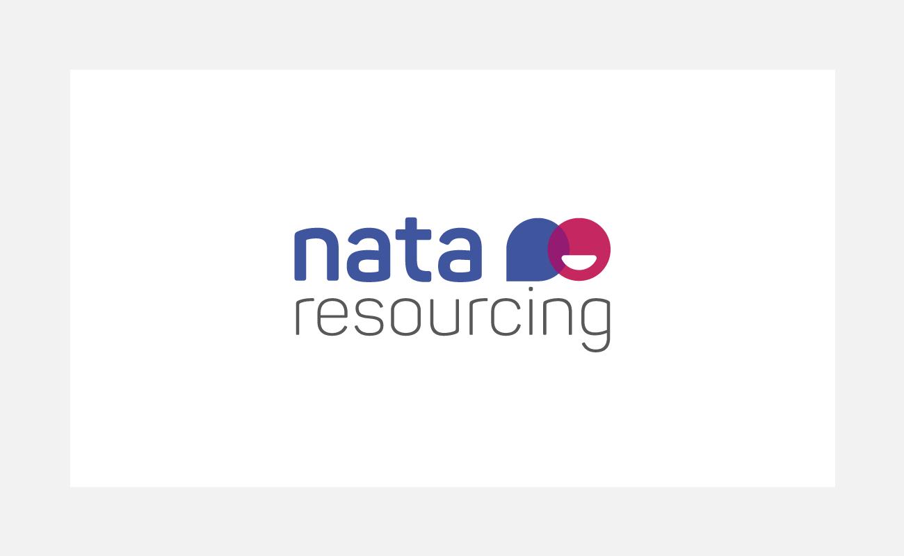 Nata Resourcing Logo Identity Design   John Shannon   Graphic Designer   Brighton