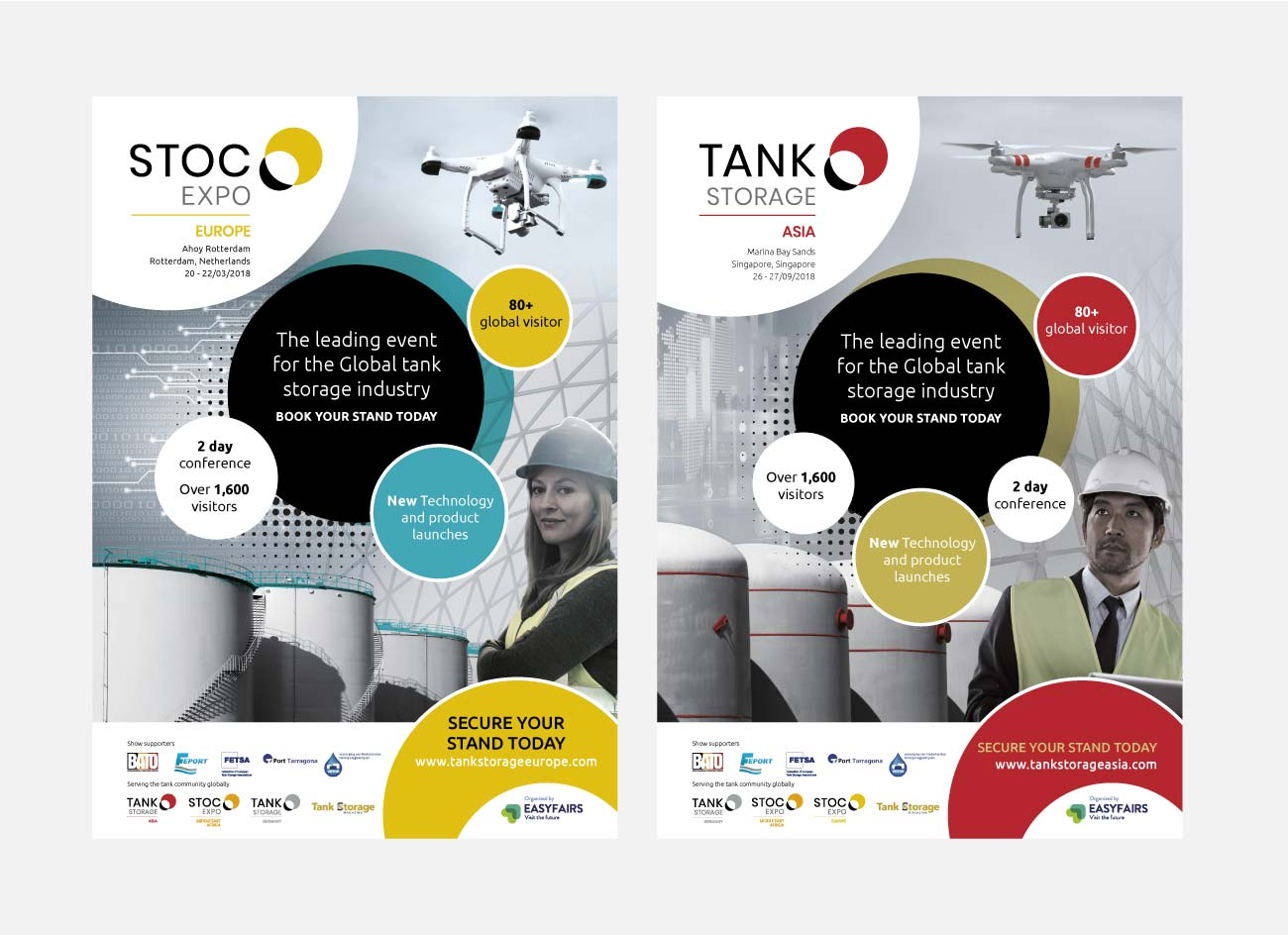Stoc Expo Branding | John Shannon | Graphic Designer | Brighton
